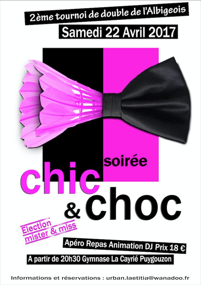 AfficheSoiréeChic&Choc